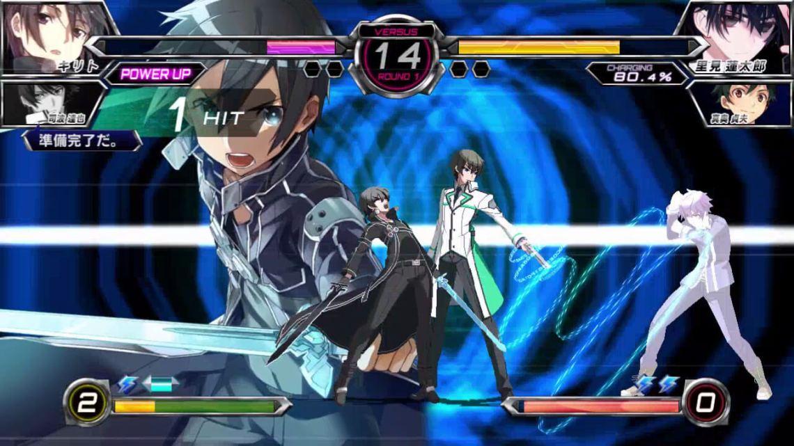 Dengeki Bunko Fighting Climax Image du jeu