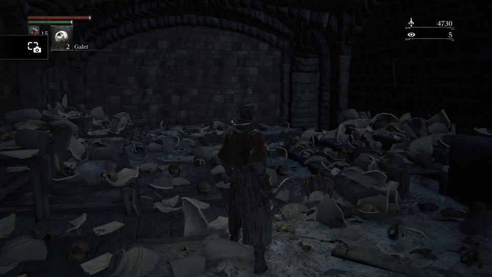 Pire que Link avec les jarres: Bloodborne.