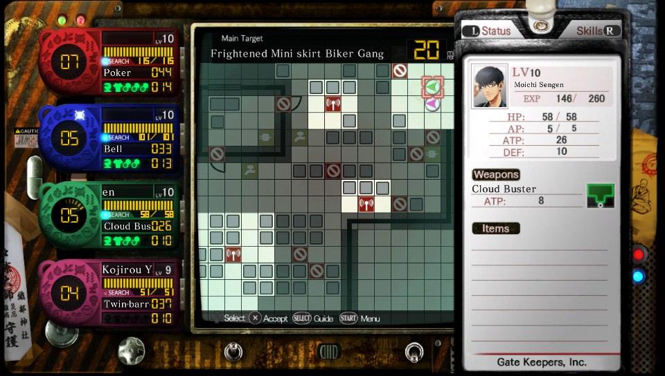 tokyo twilight ghost hunters combat