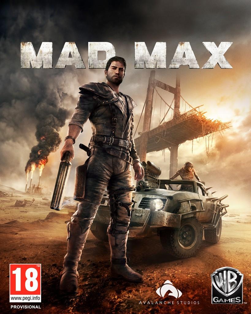 Mad Max jaquette du jeu