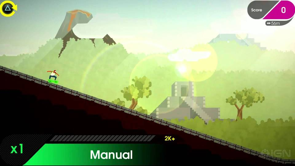 Screenshot de OlliOlli2 sur ps4
