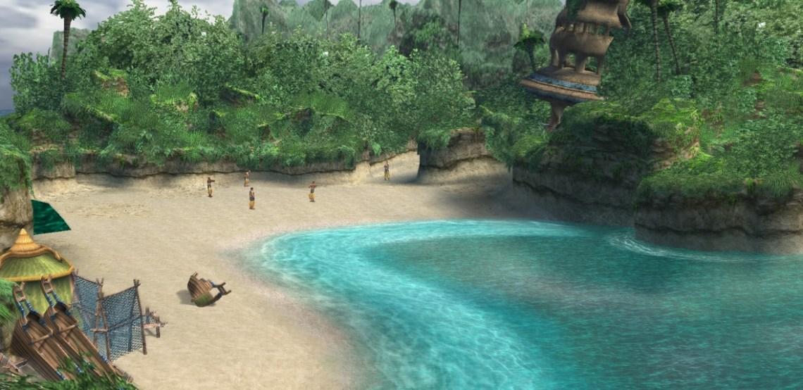Final Fantasy X Image de Besaid