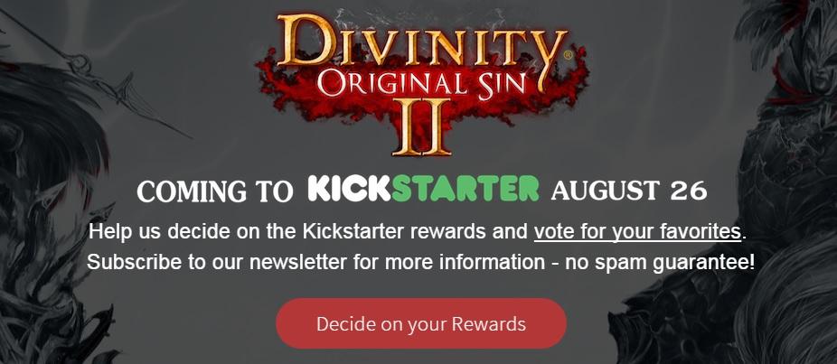Divinity Original Sin 2 kickstarter