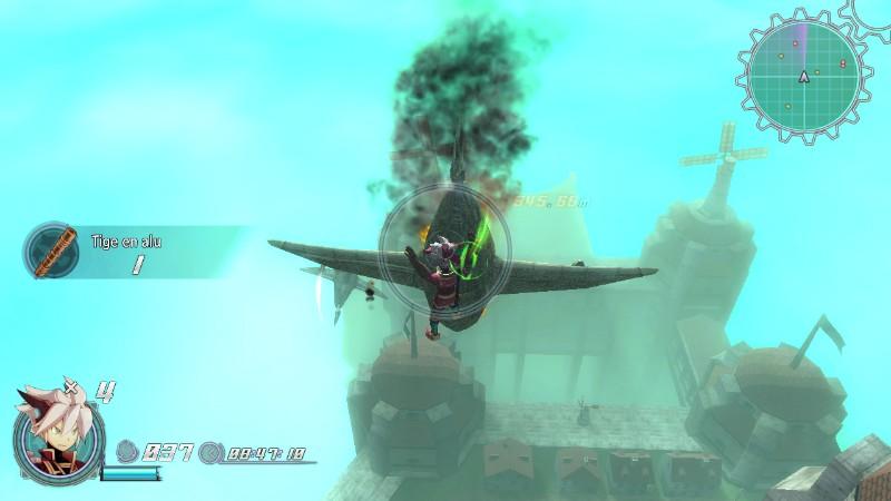 Les combats contre les bombardiers offrent parfois de jolis moments d'acrobatie