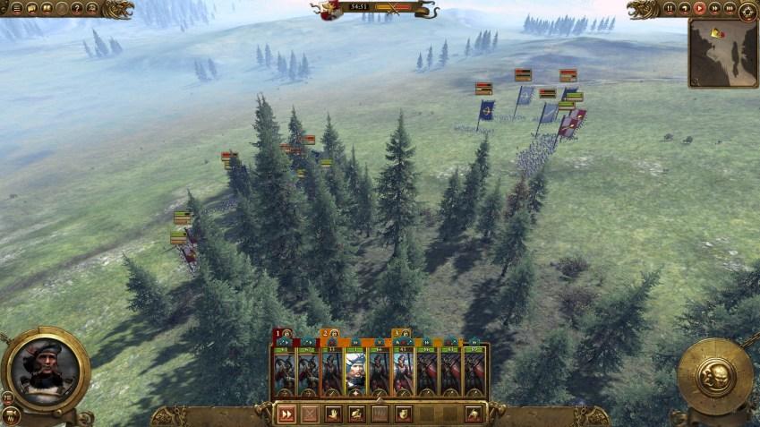 Quel belle vue sur les bois. Mais où sont les troupes?