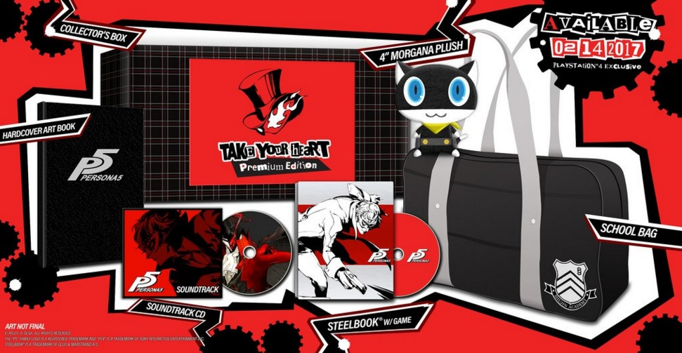 Persona 5 Take Your heart Edition Image