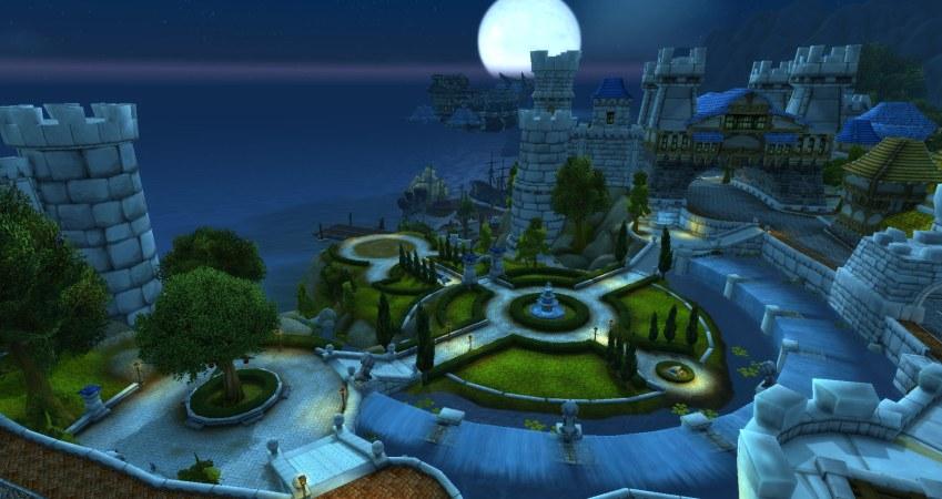 La plus belle ville d'Azeroth. Pour l'alliance !
