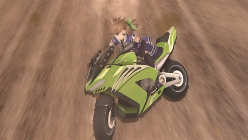 Superdimension Neptune VS Sega Hard Girls moto