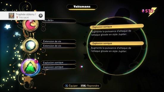Gravity Rush 2 - menus