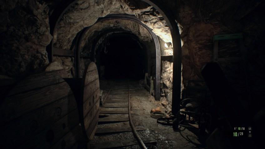 Screenshot de resident evil 7 biohazard sur ps4 mine