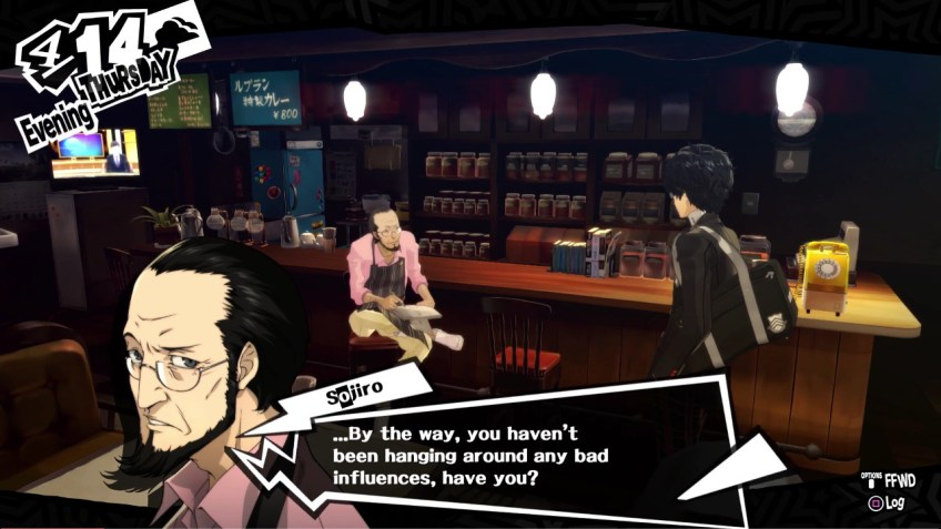 Persona 5 Sojiro