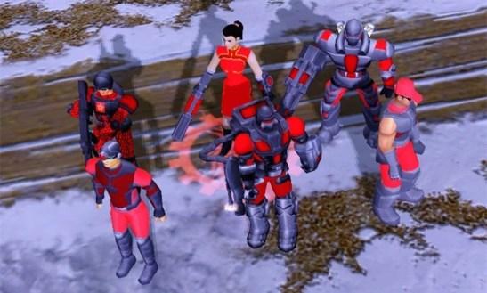 Red Alert 3 Chine unités