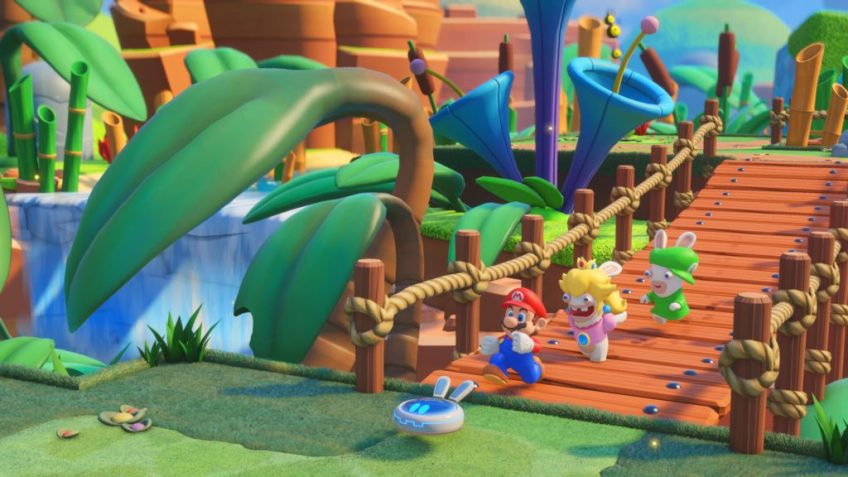 Mario + The Lapins Crétins Kingdom Battle exploration