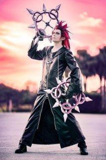 Kingdom Hearts 358/2 Days - Axel © ModeratelyOK