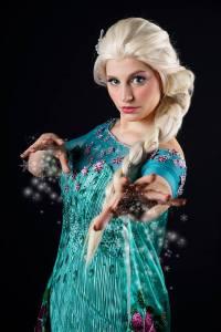 Muralu en Elsa (La Reine des Neiges) © Shashin Kaihi