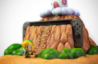 Zelda Nintendo Switch custom Link's Awakening