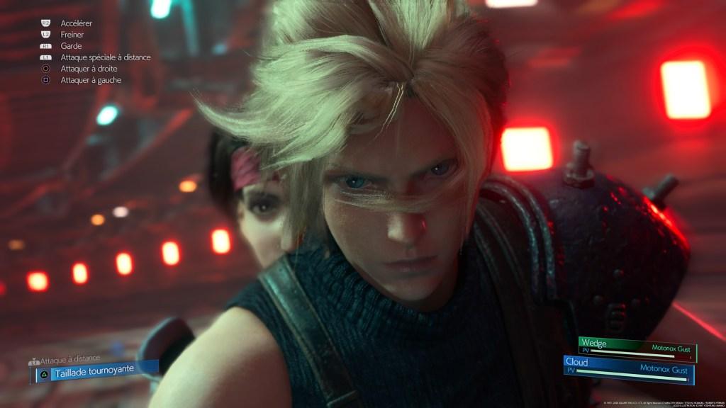 Final Fantasy VII Remake Moto
