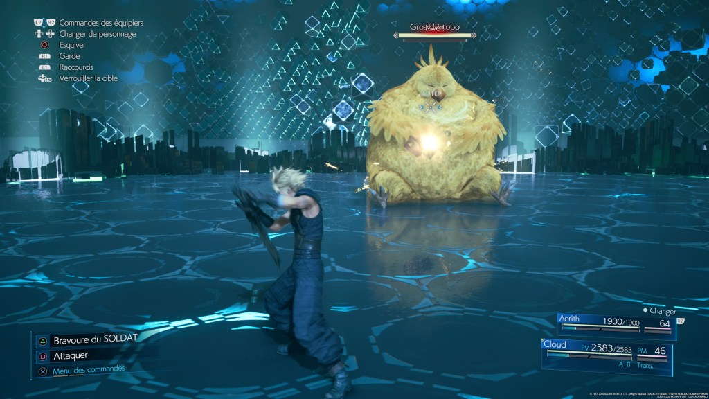 Final Fantasy VII Remake Fat Chocobo