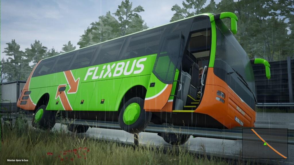 Fernbus Simulator accident