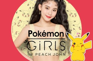 Pokémon GiRLS by Peach John Lingerie Pokémon