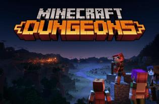 Minecraft Dungeons gameplay vidéo