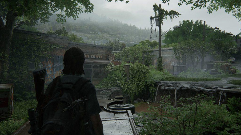 un beau paysage dans The Last of us Part II (pour le test)