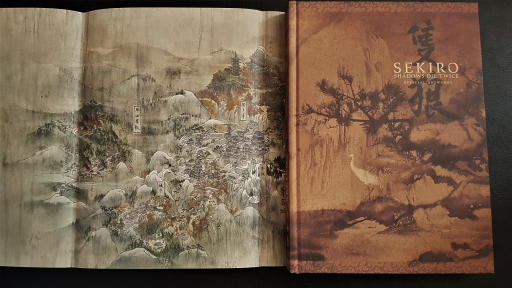 Couverture Artbook Sekiro Mana Books