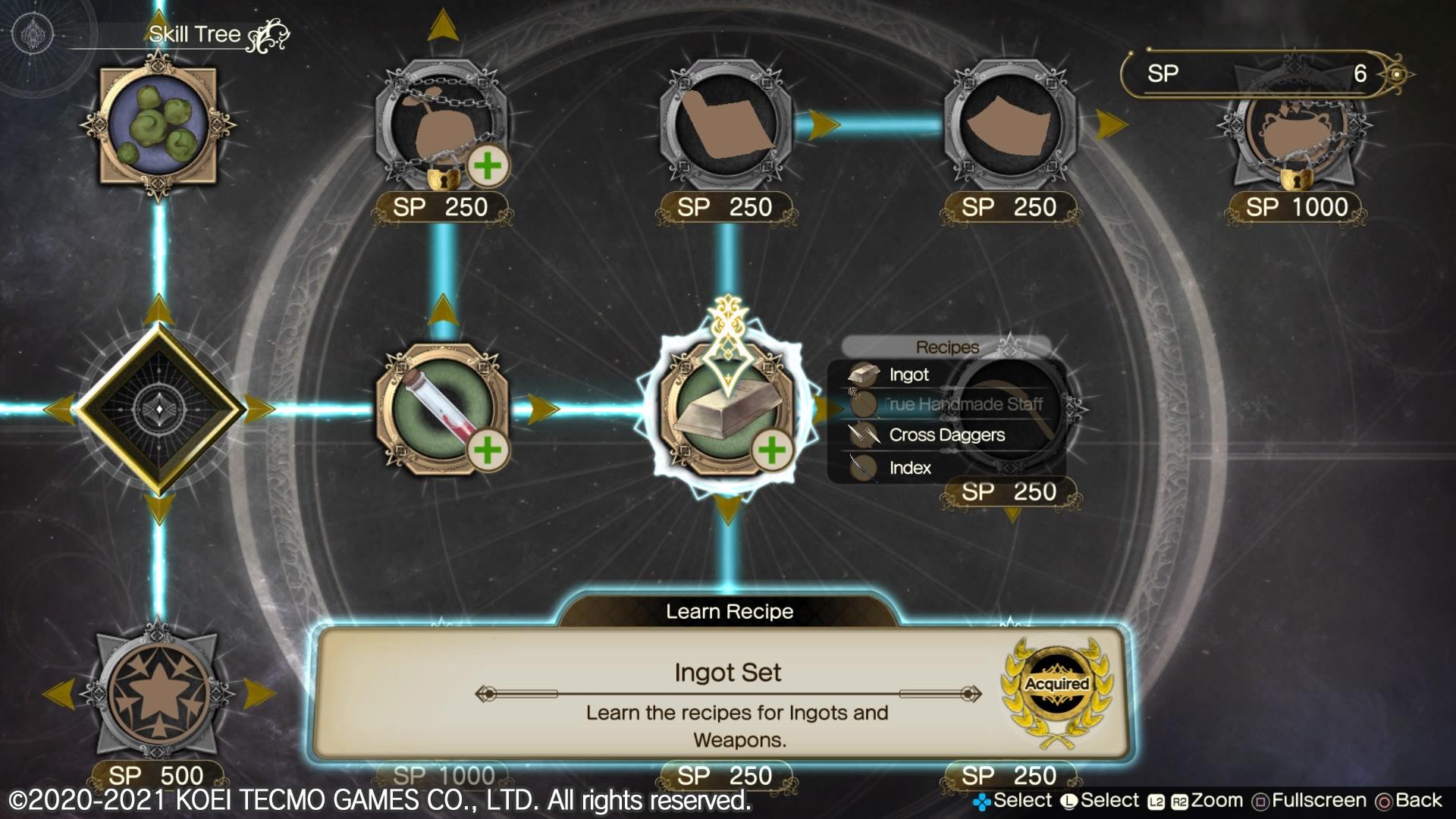 Atelier Ryza 2 sphérier alchimie