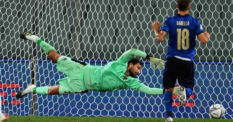Italia vs Bosnia - UEFA Nations League