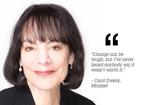 Mindset dinamico, Carol Dweck