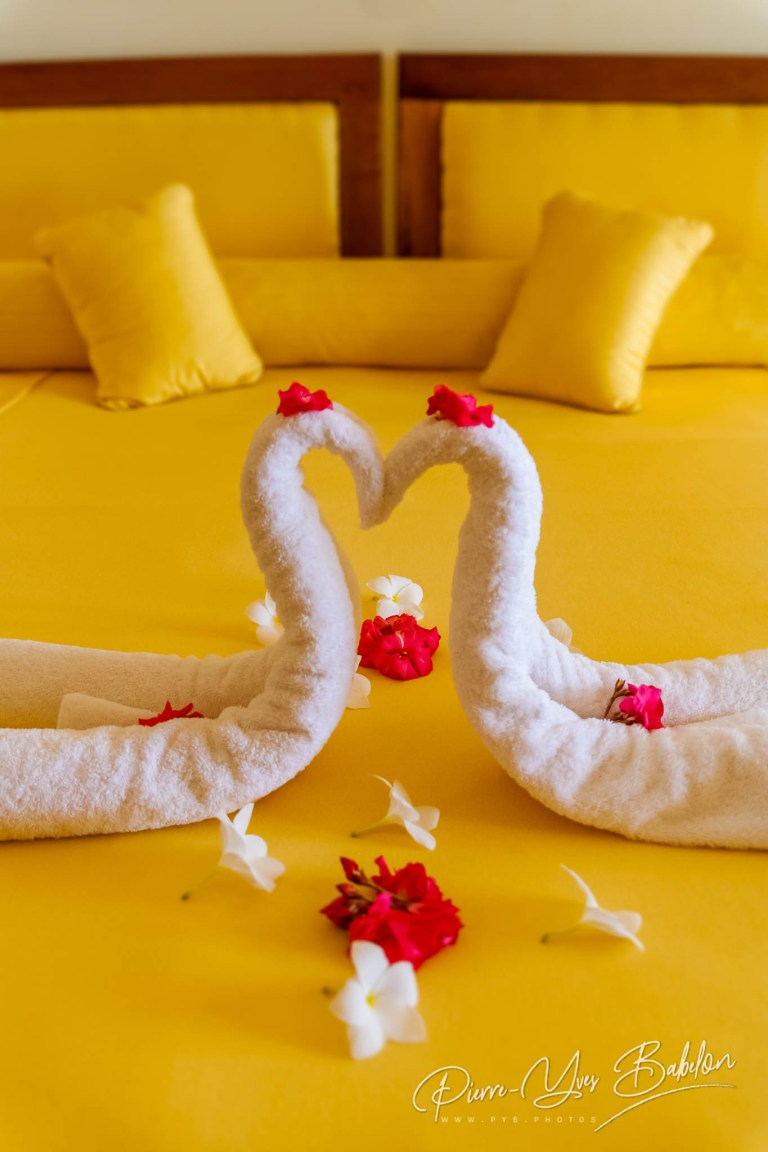 Romantic two towels