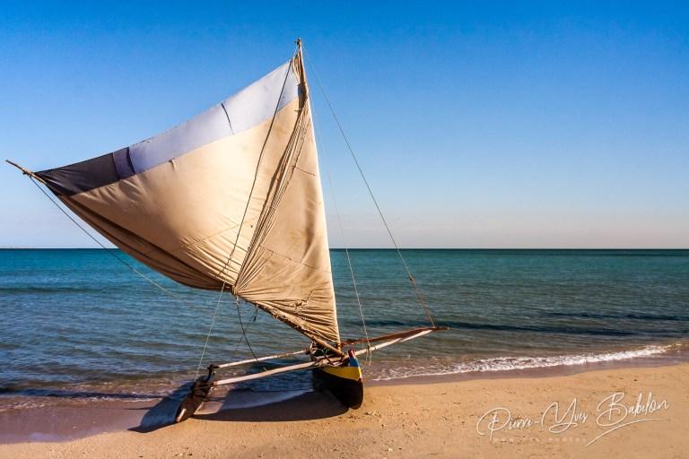 Malagasy traditional fishing boat