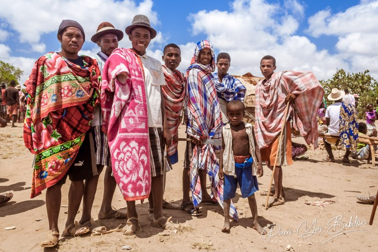 Malagasy men of Antandroy ethnic group