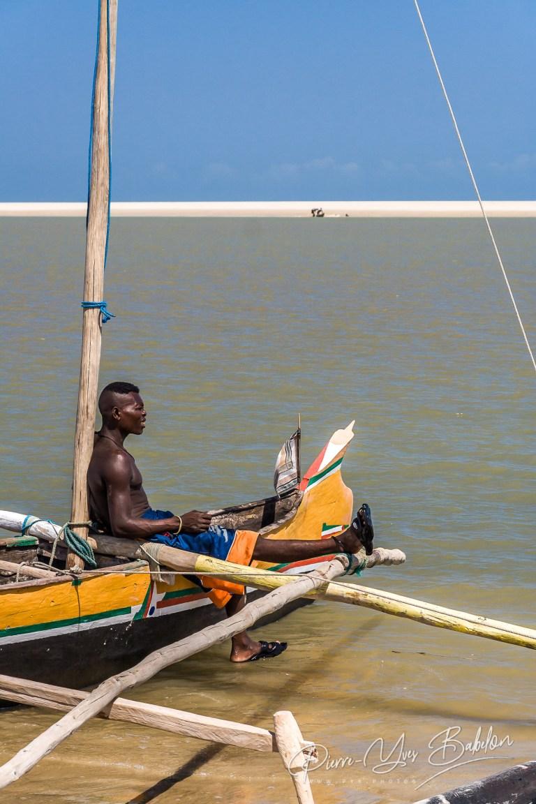 Pêcheur malgache Vezo