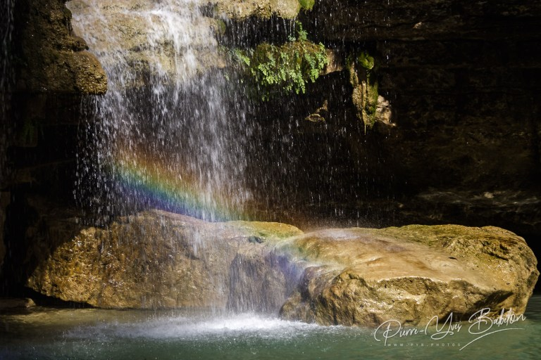 The Nosy Ampela waterfall