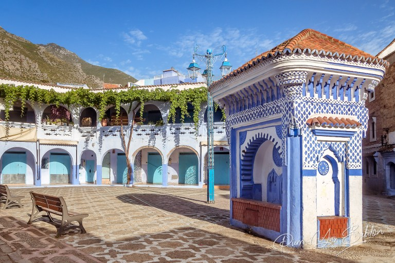 Square in Chefchaouen
