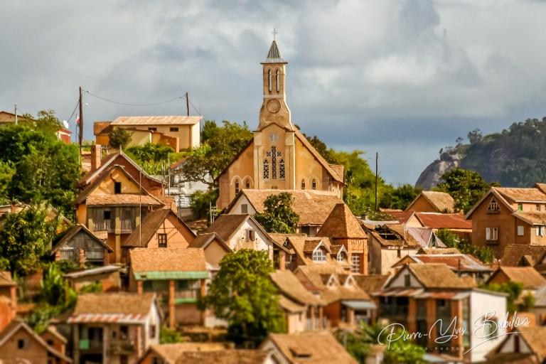 La vieille ville de Fianarantsoa, Madagascar