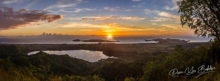 Coucher de soleil sur l'île de Nosy Be