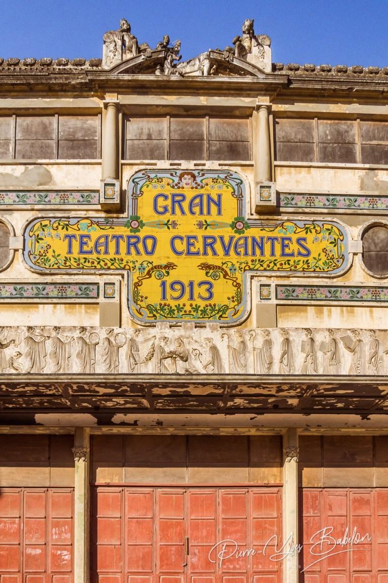 Le Gran Teatro Cervantes, Tanger, Maroc