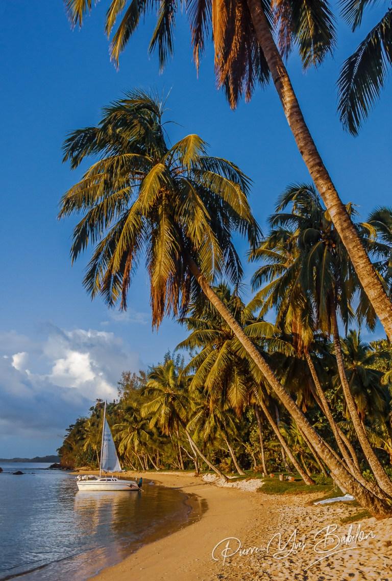 La plage de La Crique