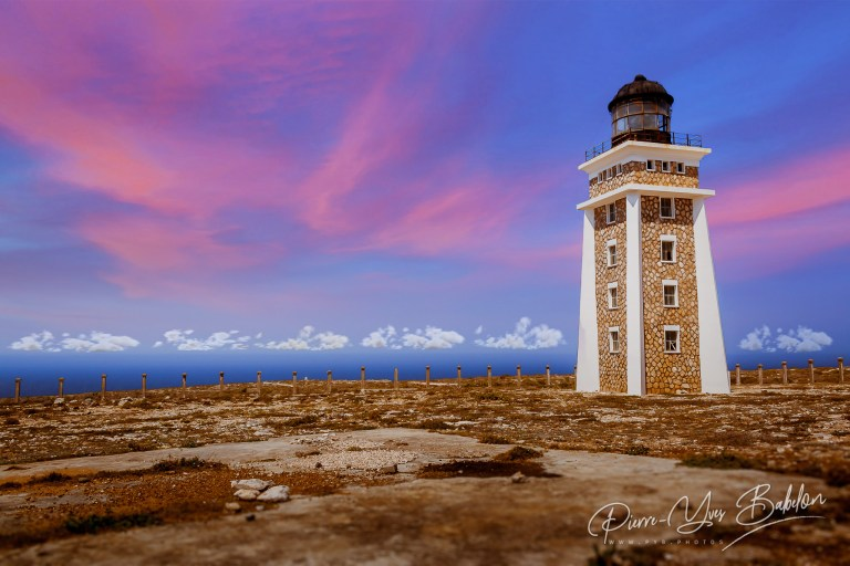 The lighthouse of Cape Sainte Marie, Madagascar