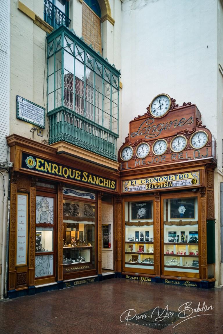 Boutique d'horlogerie
