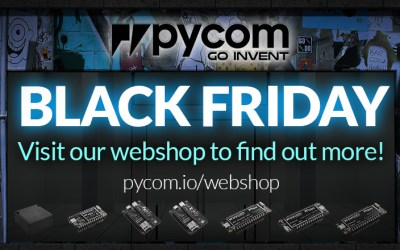 2017 BLACK FRIDAY Discounts at Pycom