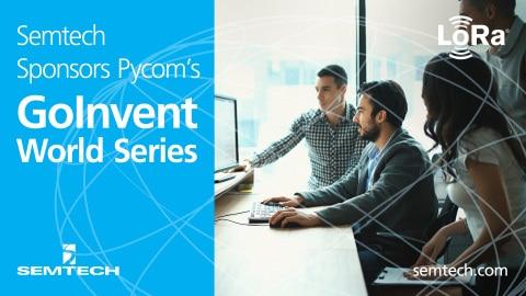 Official PR – Semtech Sponsors Pycom's GOINVENT World Series