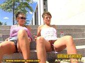 Urine Twins - Katja and Anja piss 3