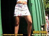 Urine Twins - Katja and Anja piss 4