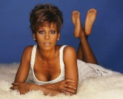 Whitney Houston sexy Feet Soles Pose