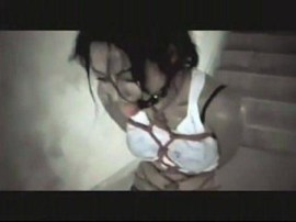 Cecilia Cheung bondage video BDSM bound and gagged
