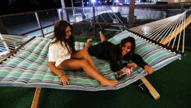 Snooki and Deena drunk as usual