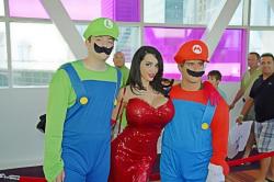 Amy Anderssen Jessica Rabbit Mario Bros